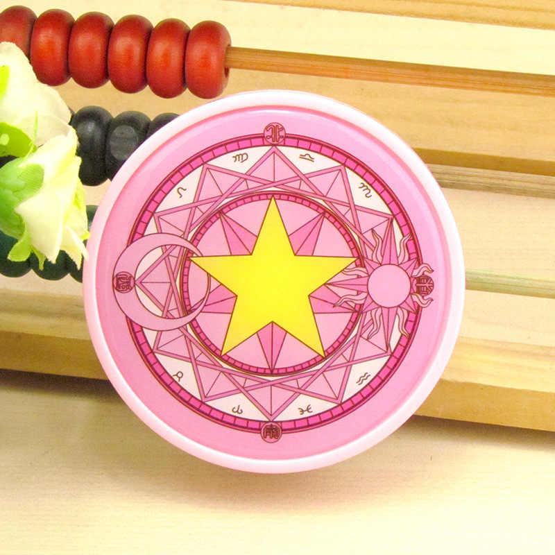LIUSVENTINA Милая открытка Captor Sakura Sun Moon пятиконечная звезда контактные линзы коробка контейнер для цветных линз подарок для девочек