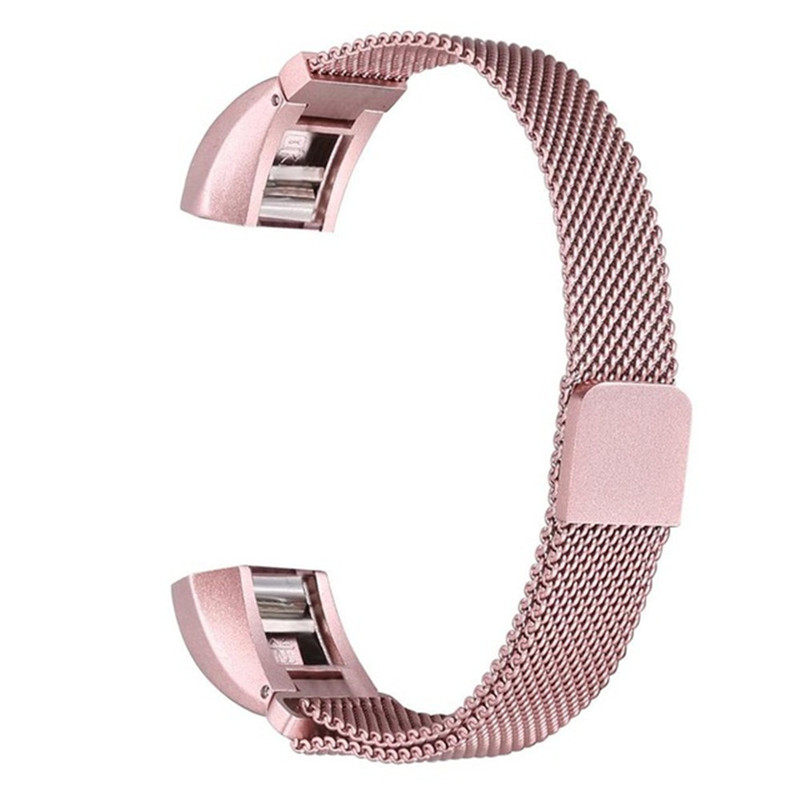 New watch band 2018 Milanese Magnetic Tainless Steel Watch Band Wrist strap For Fitbit Alta HR lnop nylon rope survival strap for fitbit alta alta hr replacement band bracelet wristband watchband strap for fitbit alta