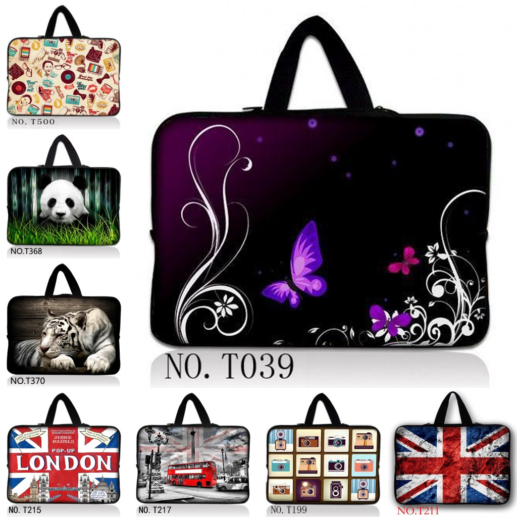 2015 Hot Fashion 711,12,13,14 15 inch Universal Laptop Ultrabook Notebook Skin Bag &for Macbook Air Pro Sleeve Case Women Men image