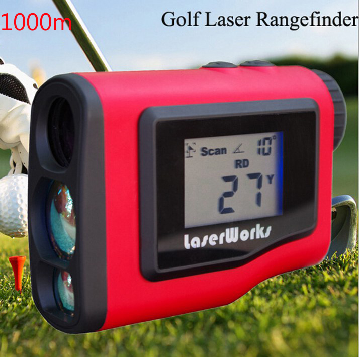 6x25 New Binoculars Golf Laser range Distance Meter font b Rangefinder b font 1000m Range Finder