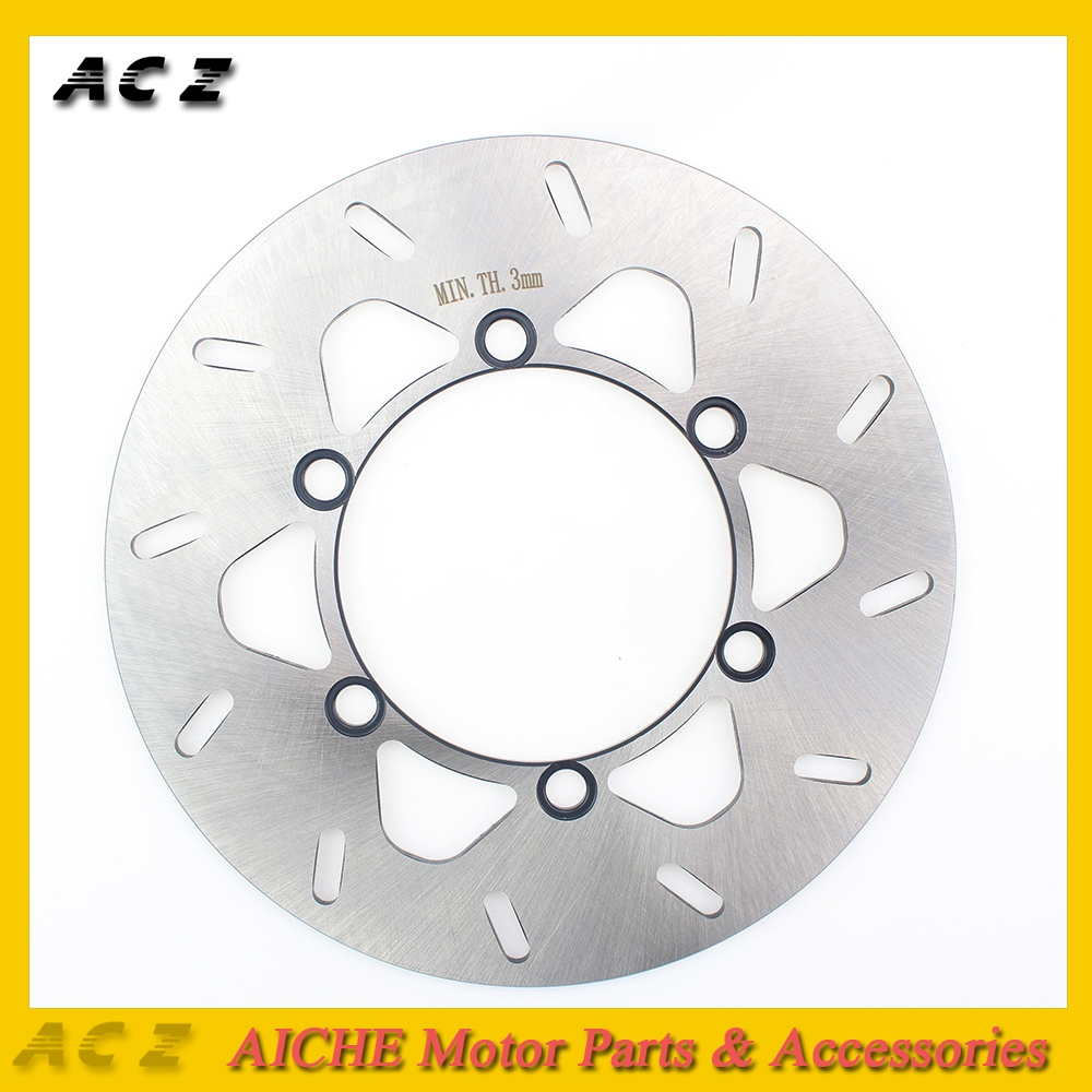 ACZ Motorcycle Floating Rear Brake Disc Rotor Stainless Steel Brake Disks For KAWASAKI <font><b>KX125</b></font> KLX250 KDX200 KDX225 KDX250 image