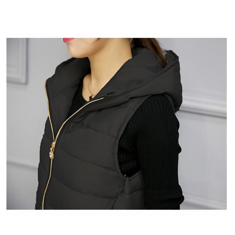 Cămașă de iarnă caldă pentru femei Vestă lungă pentru femei, - Îmbrăcăminte femei - Fotografie 4