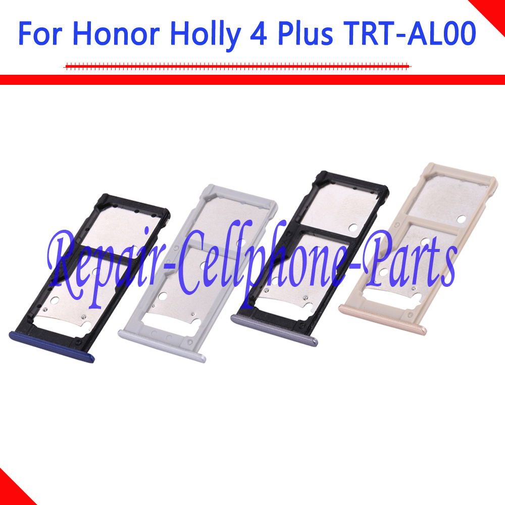 Sim Card Tray Micro SD Card Holder Slot Adapter Parts Sim Card Adapter For Huawei Honor Holly 4 Plus / Honor Holly 4+ TRT-AL00