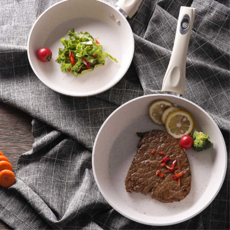 Maifan Stone Non-Stick Frying Pan Steak Frying Pan Multi-Function Pancake Omelet Thickening Cooker Open Flame Universal