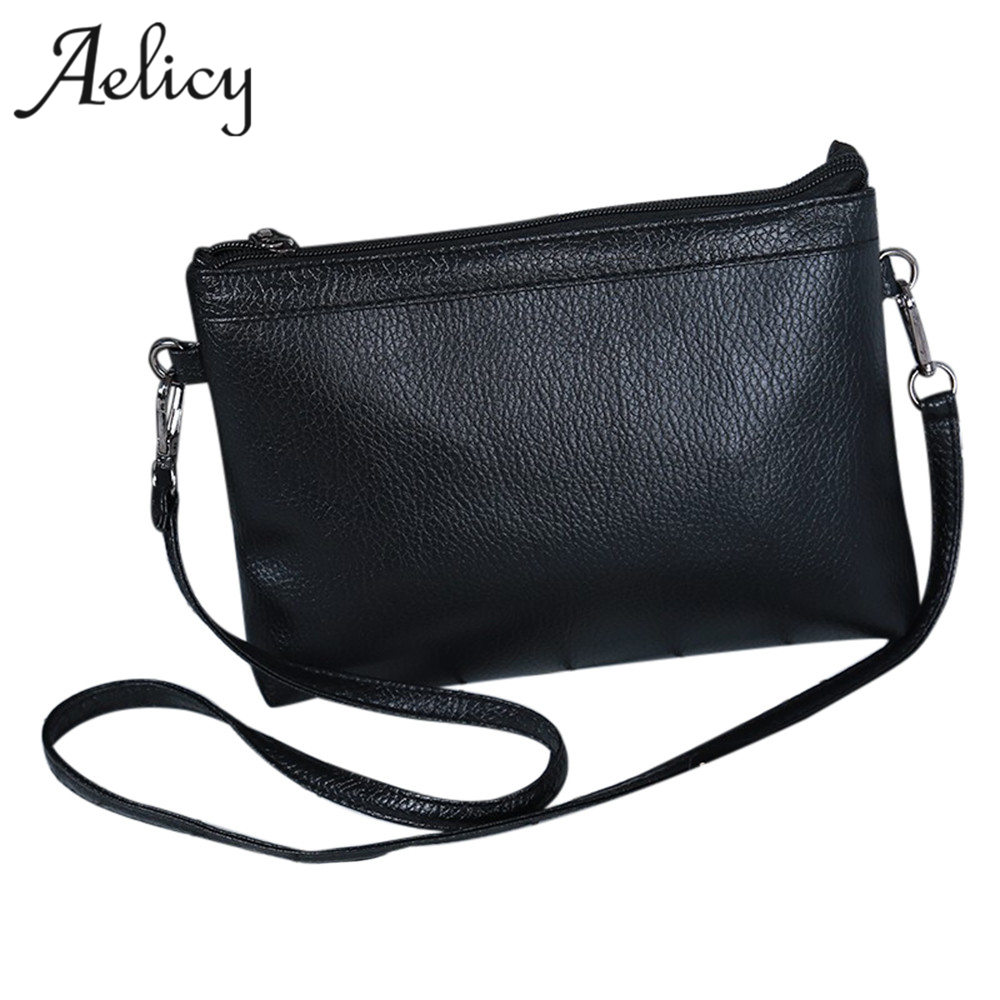 Aelicy Women Fashion Handbag Shoulder Bag Small Tote Ladies Purse Women Leather Handbags Famous Brands bolsa feminina bolsas women fashion tassel pu leather handbag shoulder bag small tote ladies purse comfystyle