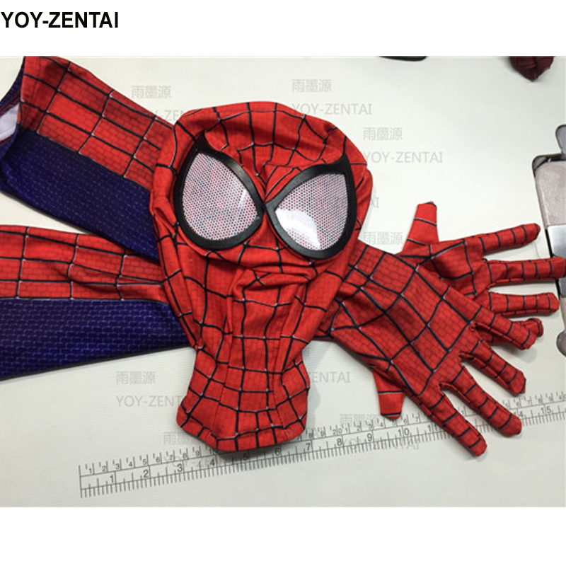 High Quality Spiderman Mask Spiderman Gloves