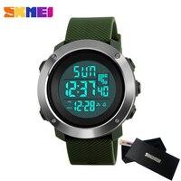 SKMEI Brand Men Women Sports Watches Chrono Double Time Digital LED Electronic Clock Man Military Dress
