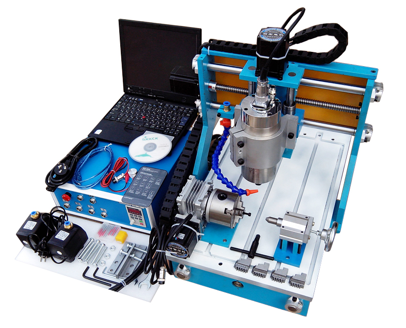 CNC 3040Y 4Axis Router Engraver  Wood Metal Engraving Milling Machine european quality jinan acctek high quality 4 axis cnc engraver wood router