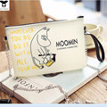 lovely cartoon Moomin family shoulder bag inphone 6 6s cell phone pocket small  Handbag jelly  Messenger Bag 4 colors