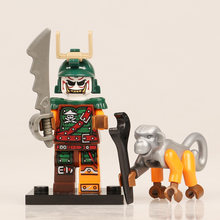 The Double Lund Compatible with LegoINGlys NinjagoINGlys Minifigs Zane KAI Pythor Model Building Blocks Lloyd Snake Gift for Kid(China)
