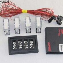 CHESHUNZAI для VW CC/Sagitar/magotan/Tiguan/Touran Golf 6 светодиодный светильник для ног, светящийся торшер с оболочкой, подножки