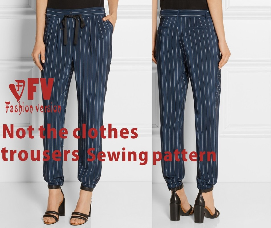 Haroun Pants Sewing Pattern The Trousers Pattern(Not The Pants) BCK-21
