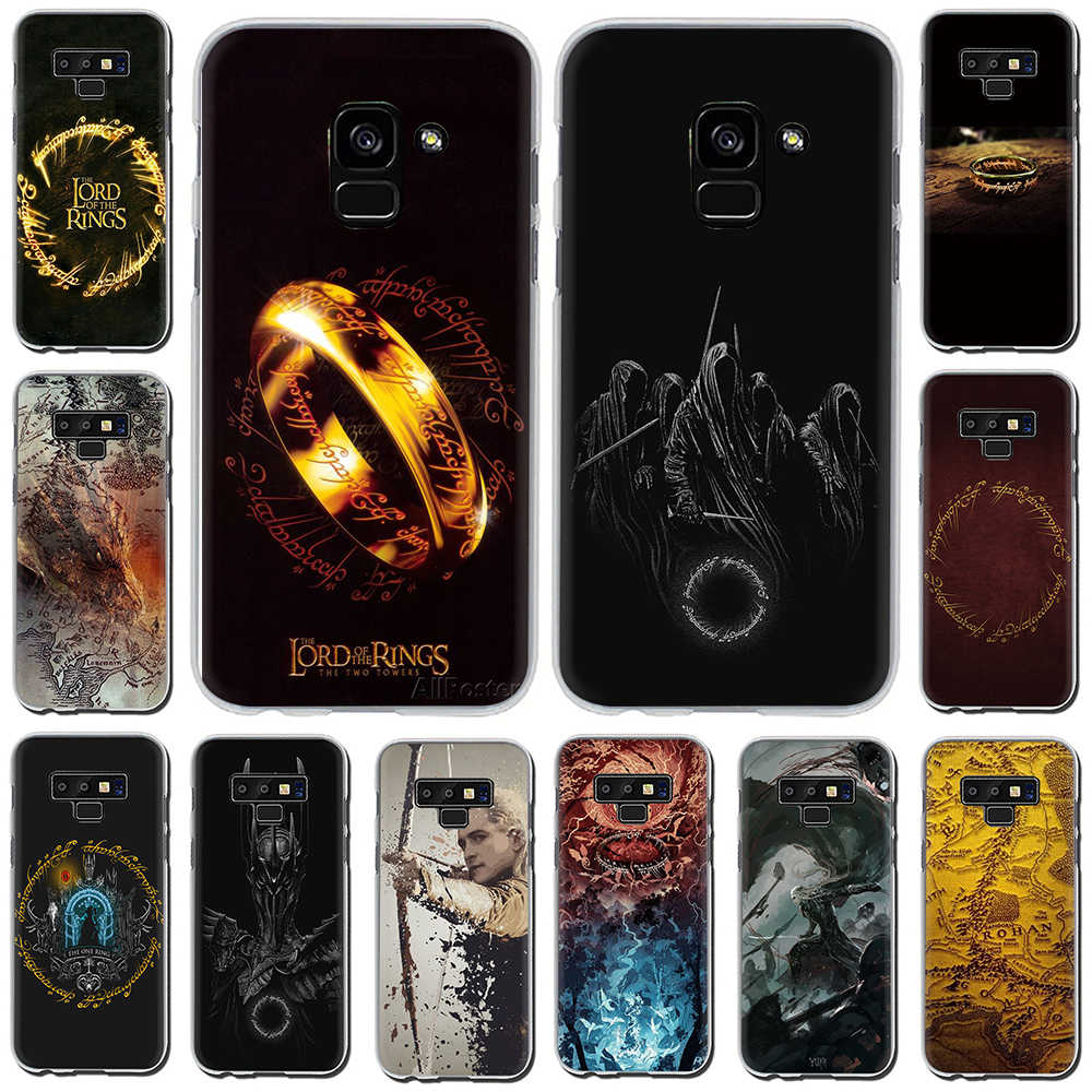 The Lord Of The Rings Hard Case Capa Do Telefone Para Samsung Galaxy A3 A5 2016 2017 A7 A8 A9 2018 UM 10 30 40 50 70