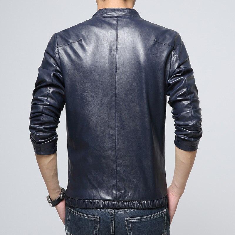 Faveurs Vestes Chantiers Loisirs Édition M Hommes En Han Noir 100 Grands 5xl Cuir Homme bleu Pu Manteau asiatique Taille Nouveau g0fOEwnq