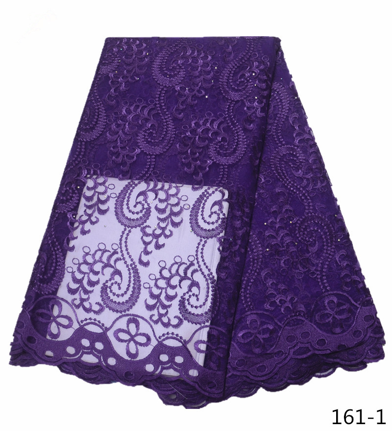 2019 Latest French Nigerian Laces Fabric High Quality Tulle African Laces Fabric Wedding African French Tulle Lace 161 in Lace from Home Garden