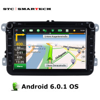 SMARTECH 2 Din 8 Inch Car Audio Video Multimedia Player Android 6 0 1 OS Qaud