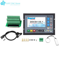 DDCSV3.1 Handwheel Replace Mach3 USB CNC Controller 3 4 Axis 500KHz Metal case Offline control