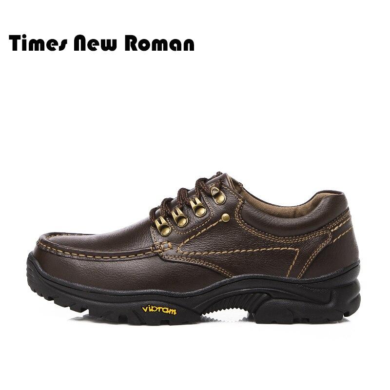 Genuíno Ao Times Roman New Livre Ar Fundo Lace Homens Couro De 2 Sapatos Dos Homem Primavera Grosso Casuais Masculinos up 1 Oxfords 447rq0