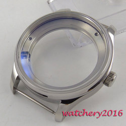 43mm parnis 316L Stainless Steel Watch CASE fit ST2505 ST2530 Movement