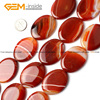30X40MM OVAL AGATE BEADS STRAND 15 FREE SHIPPING