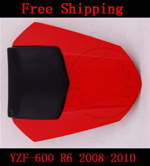 For Yamaha YZF 600 R6 2008 2009 2010 motorbike seat cover High quality Motorcycle Red fairing rear sear cowl cover for yamaha yzf 600 r6 2008 2009 2010 motorbike seat cover high quality motorcycle yellow fairing rear sear cowl cover