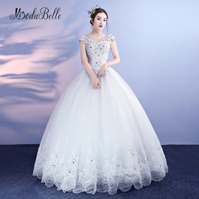 modabelle Princess Bridal Wedding Dresses For Lady Sparkle Beaded ...