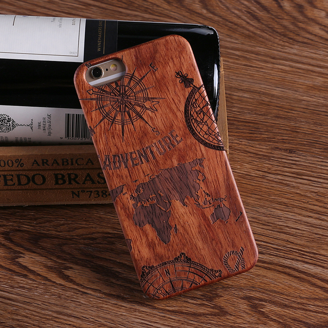 Wooden Phone Case For iPhone Models with PC Protective Layer