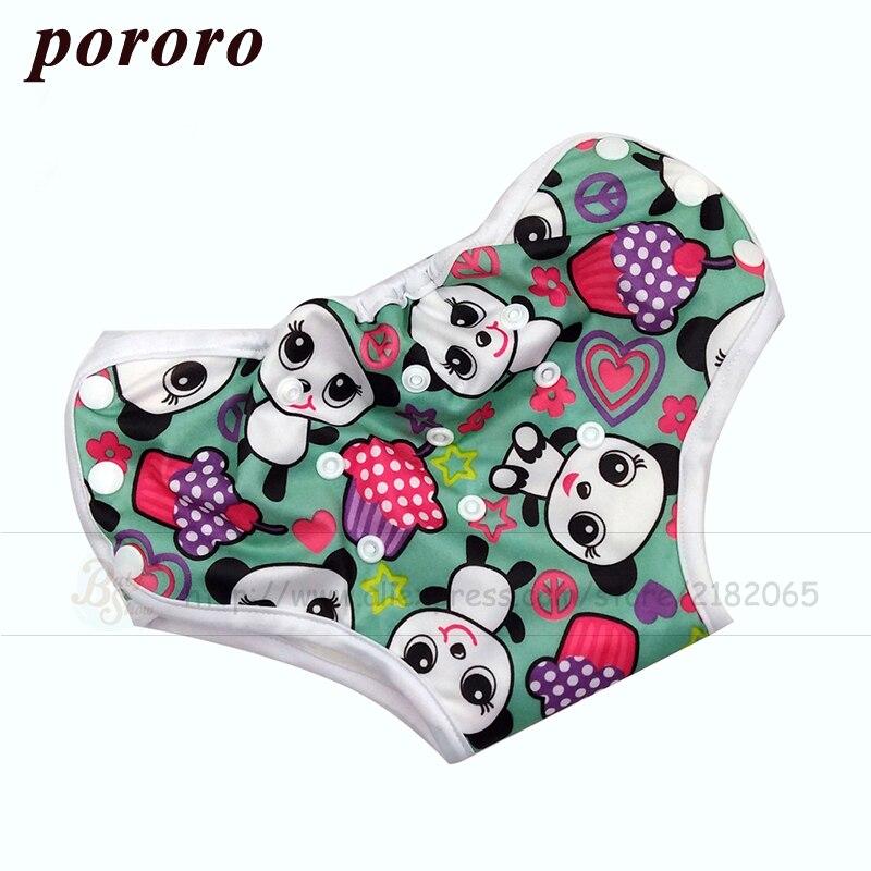 [Pororo] Reusable Bamboo Fiber Fabric  Potty Training Pants Pantalones De Entrenamiento Baby Underwear Briefs Training Pants