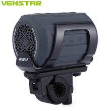 Venstar S404 Portable Bluetooth Speaker Music FM Radio Player 6w Strong Speaker with Bicycle Bell Functions Wireless Speaker