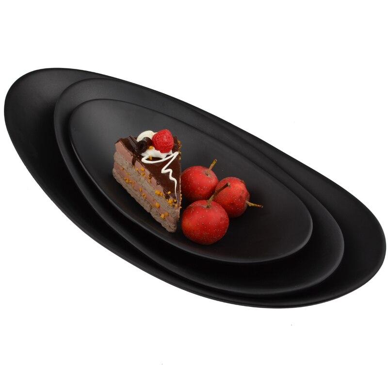 Japanese Style Imitation Porcelain Sushi Dish Plates