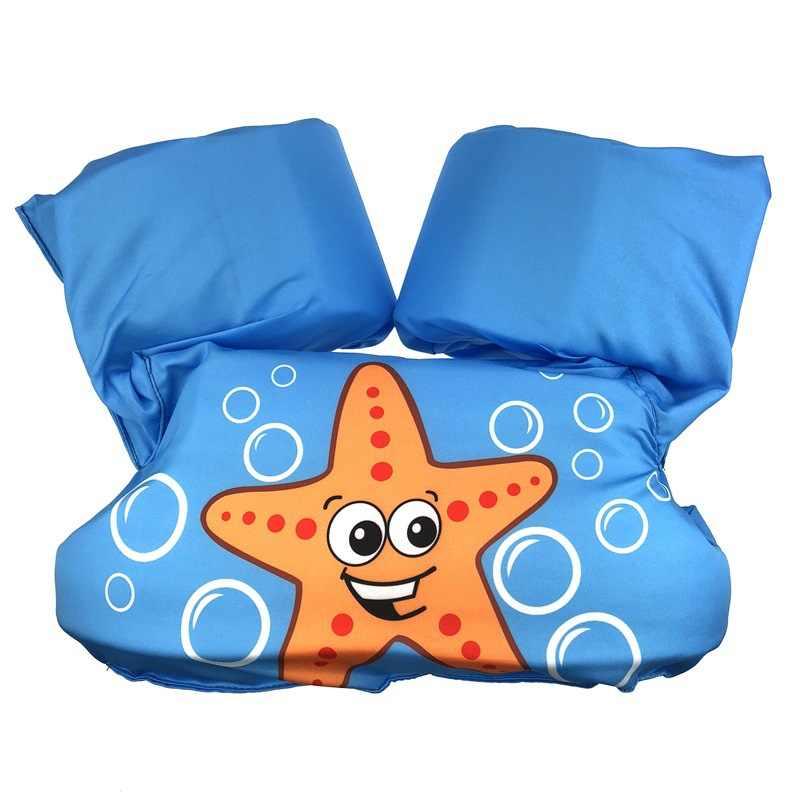 Puddle JUMPER เด็กแหวนชีวิตเสื้อกั๊กเด็กลอยโฟมความปลอดภัยสระว่ายน้ำน้ำเสื้อชูชีพเด็กชุดว่ายน้ำว่ายน้ำ Lifevest