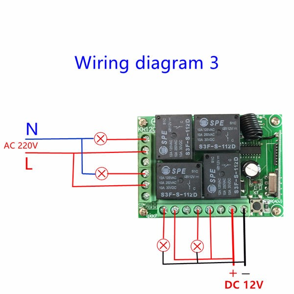 Wiring diagram 3-600
