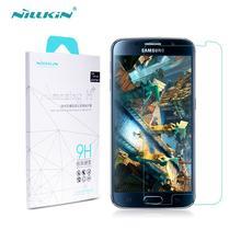 Vidrio templado para Samsung Galaxy S6 Nillkin increíble H + Anti explosión S6 G9200 G920F Protector de pantalla