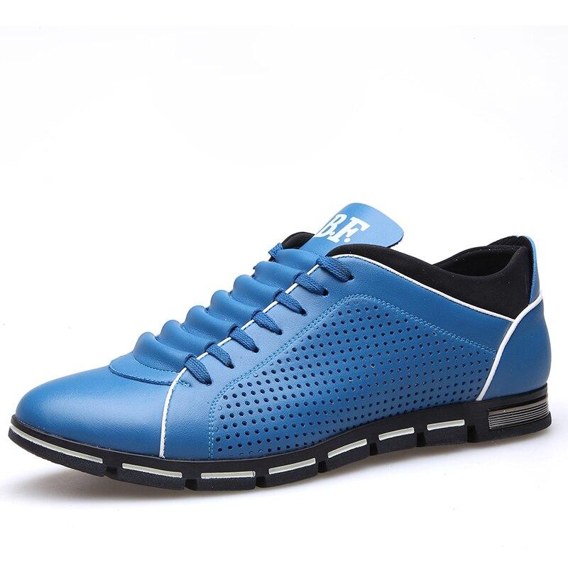 Zplover Big Size 37-50 muške casual cipele modne kožne cipele - Muške cipele - Foto 2