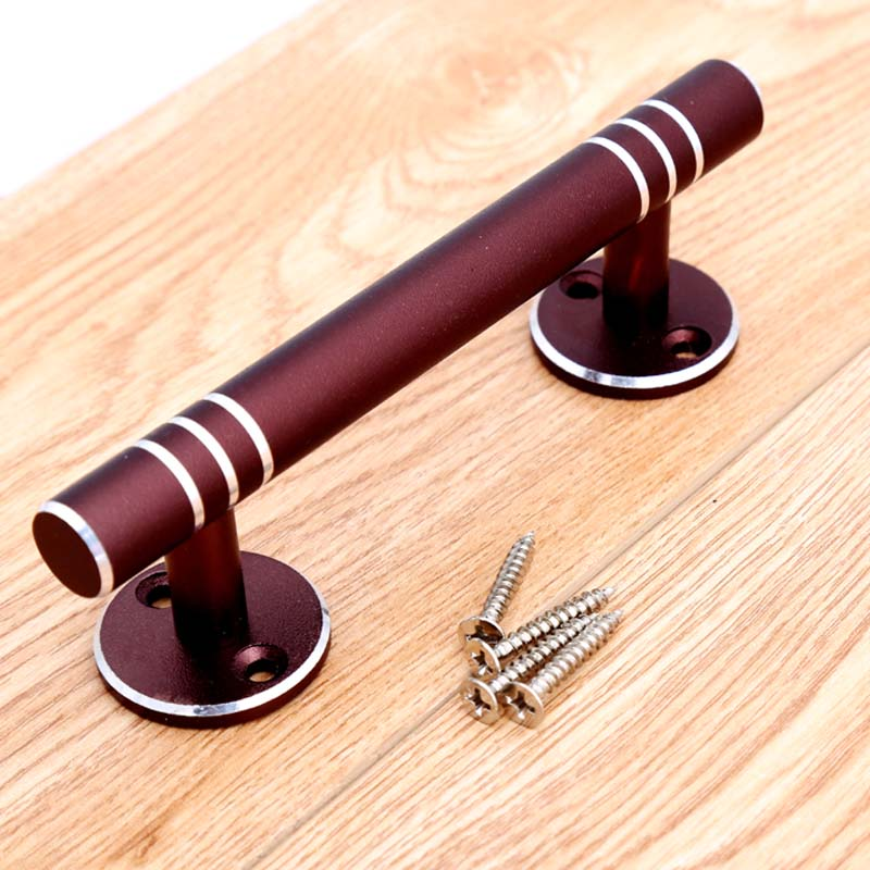 Charmant Moderm Simple Fashion Unfold Install Furniture Door Handles Purple Silver  Kitchen Cabinet Dresser Drawer Handles Pulls Knobs