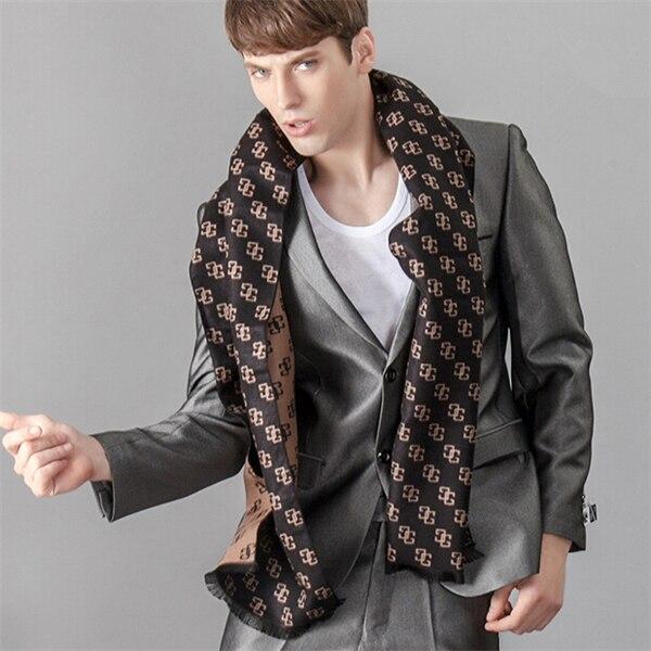 Modal Printed Cotton Scarf Luxury Brand Winter Scarf Warm Soft Shawl Wrap Long Scarf Men Scarves Jacquard Weave Duftgol Jd10079 Apparel Accessories