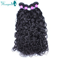 4Pcs/Lot Cambodian Virgin Hair Water Wave Human Hair Extensions Cambodian Hair Bundles Water And Wet Wavy Hair Natural Color