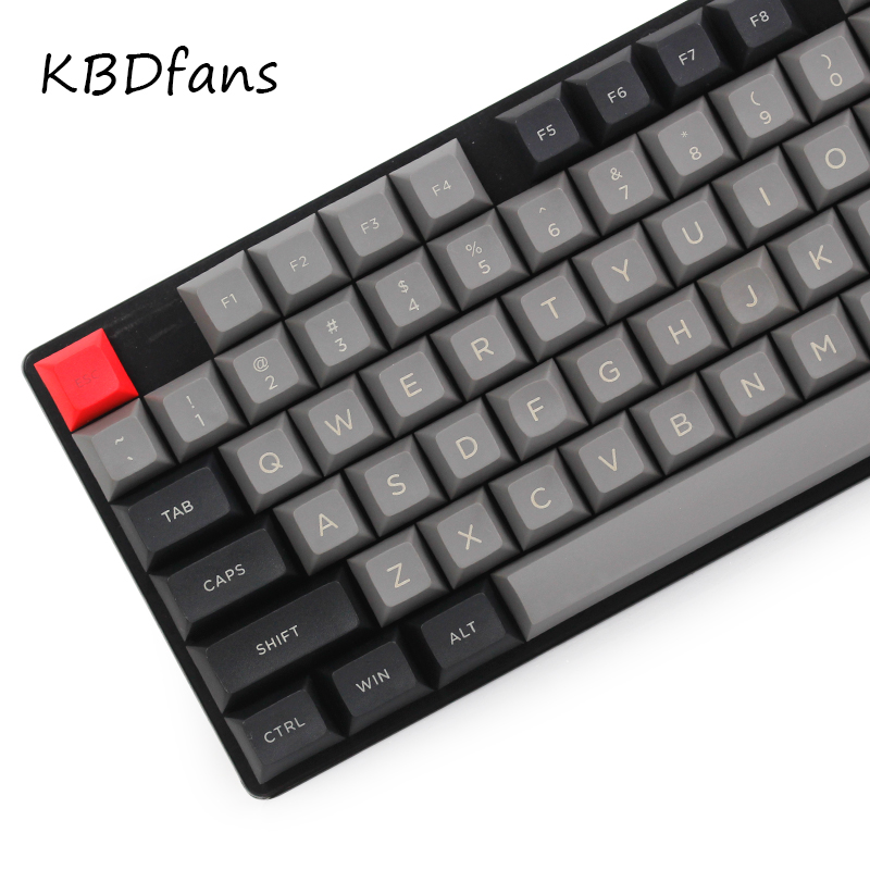 Топ с принтом dsa pbt клавиши для механической клавиатуры 108 ключи iso полный набор dolch колпачки клавиш Corsair bfilco minila