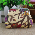 XIYUAN BRAND Women's Purse Fashion Lady Retro Vintage Canvas Handbags Small Wallet Hasp Purse Clutch Money Bag Coin money Holder