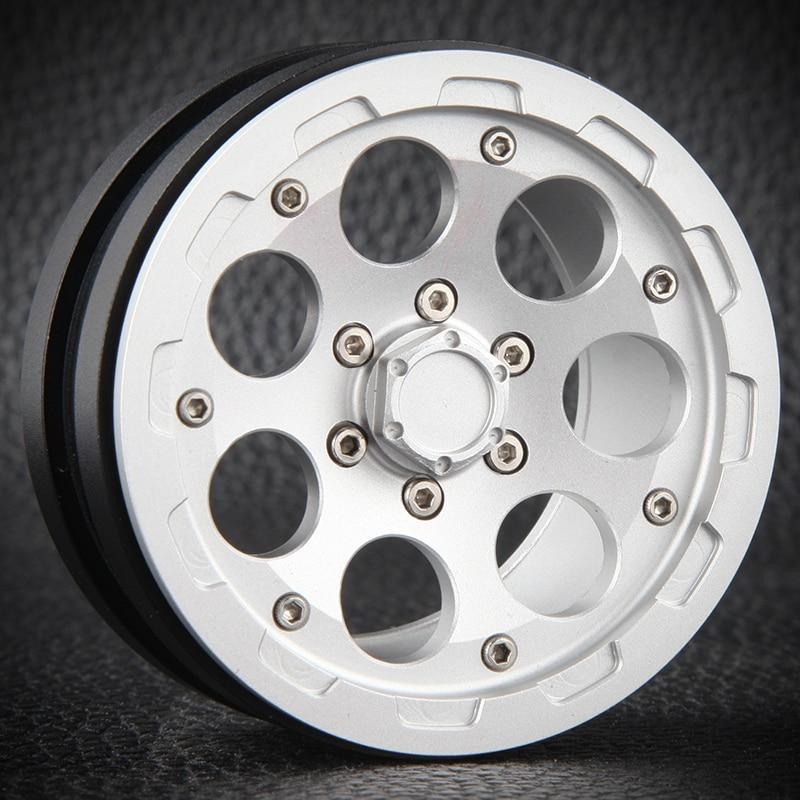 4 шт. 2,2 дюйма на станке Beadlock гусеничный диски для Traxxas Trx-4 Trx4 T4 D90 D110 осевой Scx10 90046 90047 90048