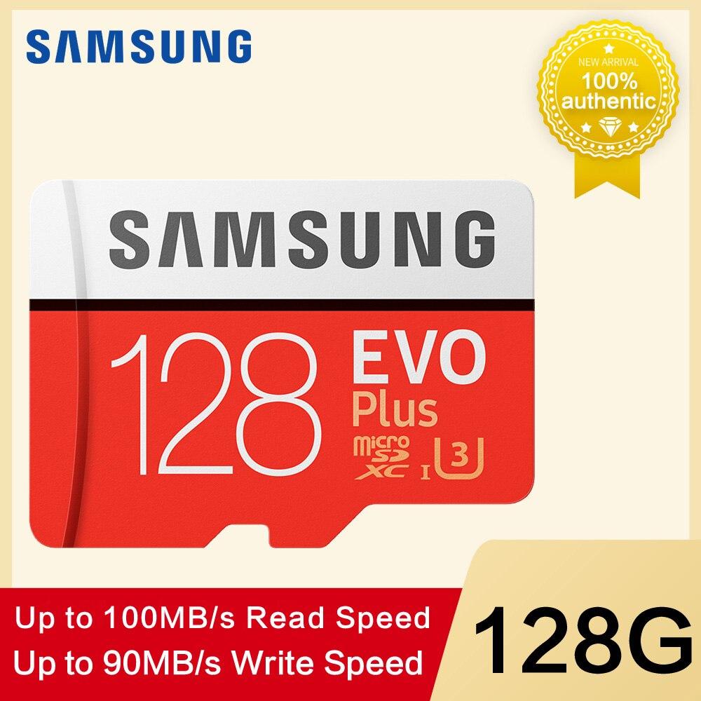 Samsung EVO Memory Card 32gb U1 Micro Sd 64gb 128GB 256GB  U3 4K Flash Memory Card Class 10 Mircosd 32gb Tf Card 100mb/s