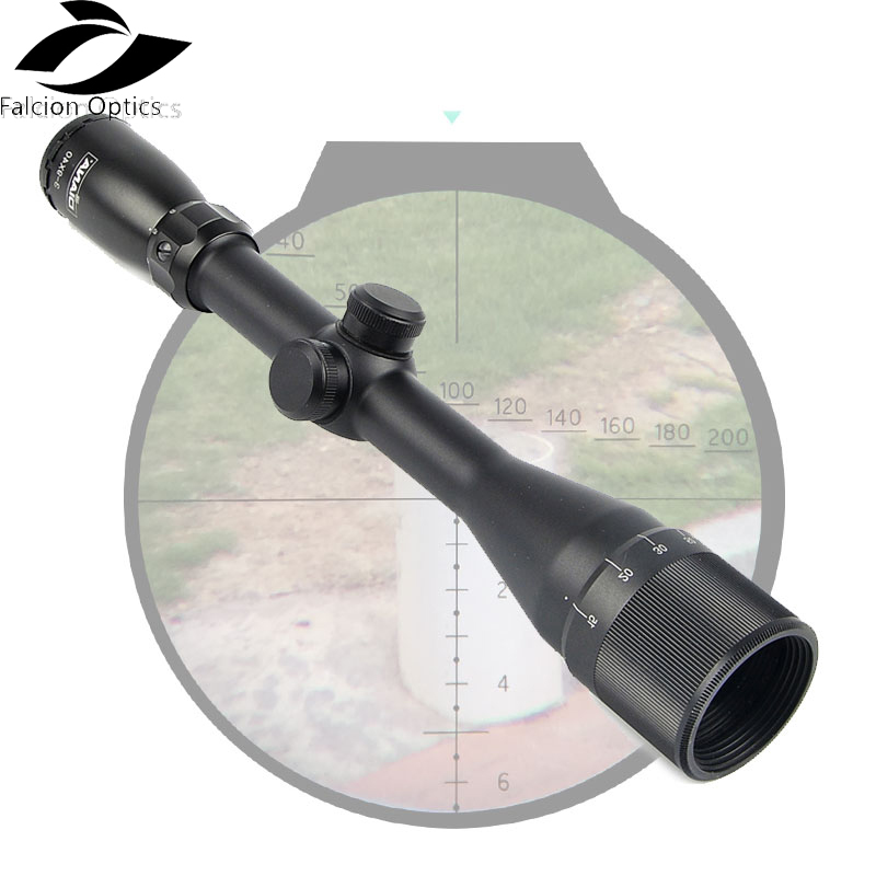 Tactical 3-9X40 AOG Scope One Tube Glass Double Crosshair Reticle Optical Sight For Sniper Airsoft Riflescope Hunting tactical diana 4x32 riflescope one tube glass double crosshair reticle optical sight rifle scope