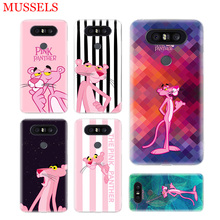 Pink Panther Phone Case for LG V40 G6 G7 Q6 Q8 Q7 G5 G4 V30 V20 V10 K8 K10 2018 2017 Patterned Customized Cases Coque Cover Capa