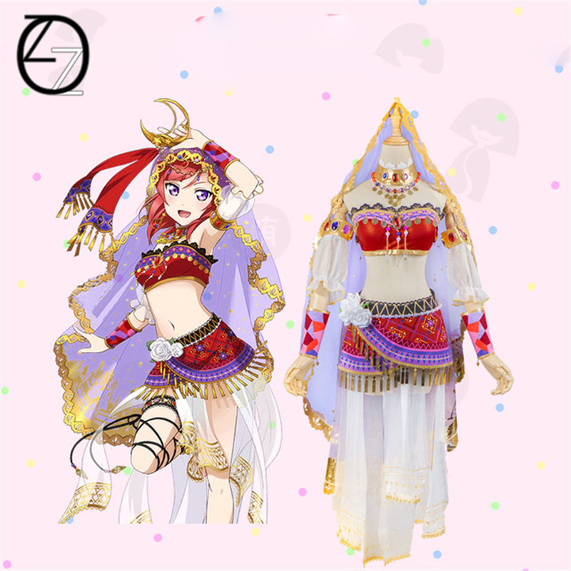 2017 Anime Love Live All Characters Cosplay Costumes Dancers Lovelive Arousal Kousaka Honoka Minami Kotori Cosplay Costumes