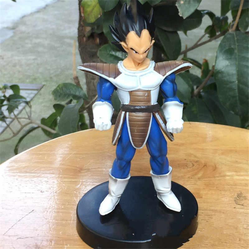 4 pçs/set 27 Geração De Dragon Ball Z Son Goku Raditz Nappa Vegeta PVC Action Figure Collectible Modelo Toy 13 CM OPP P543