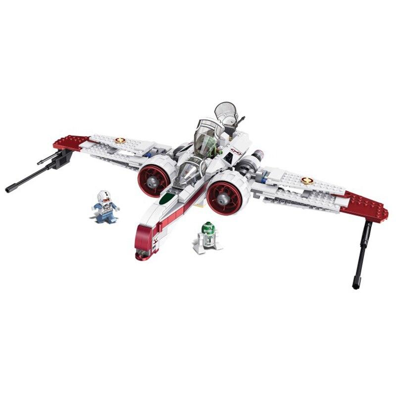 Wars R4 P44 Arc 170 Starfighter Assemble Clone Pilot Captain Jag Kit Fisto Building Blocks Children Gift Toys With Legoed 35004
