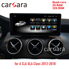 "10.25"" 2G RAM 32G ROM Android touch screen for CLA GLA A Class W176 2013-2018 GPS Navigation radio stereo dash multimedia player"
