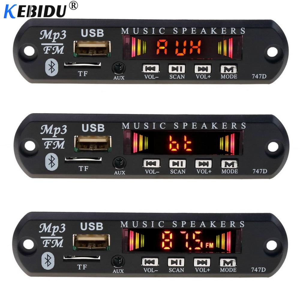 Hifi-geräte Unterhaltungselektronik Freundschaftlich Kebidu Bluetooth Mp3 Player Decoder Board 3,5mm Aux Modul Fm Radio Tf Usb Empfänger Auto Kit Audio Für Iphone 8 Xs Huawei Lautsprecher