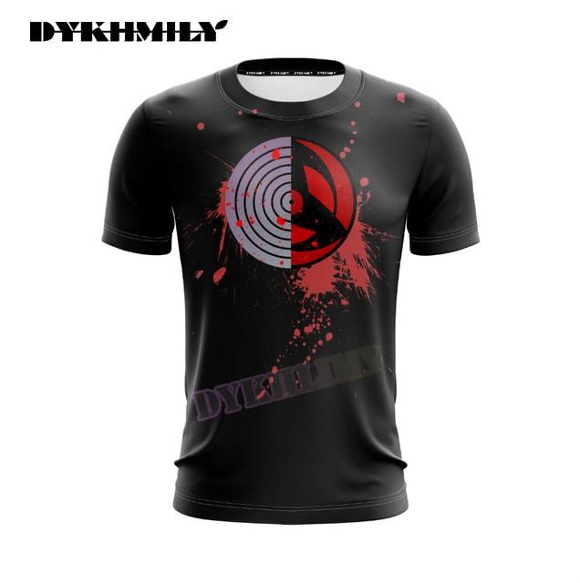 Kakashi Eyes Black 3D T Shirt