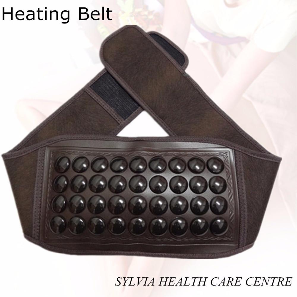Wholesale natural stone heat belt korea jade health heating belt tourmaline heating belt wall mounted golden crystal bathroom accessories crystal bathroom shelves of blue and white porcelain racks